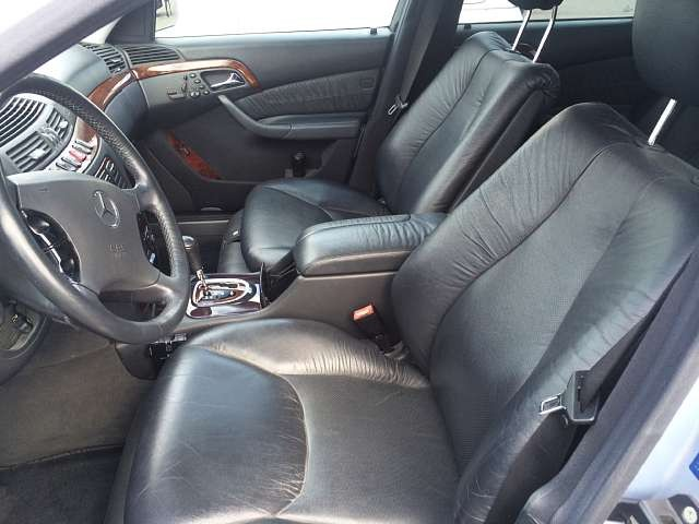Used 1999 AT Mercedes Benz S-Class GF-220065 Image[6]