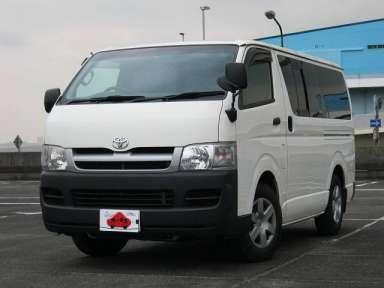 2005 AT Toyota Hiace Van CBF-TRH200V