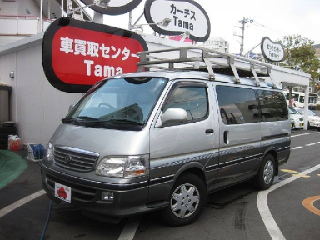 Used 2001 AT Toyota Hiace Van GF-RZH101G