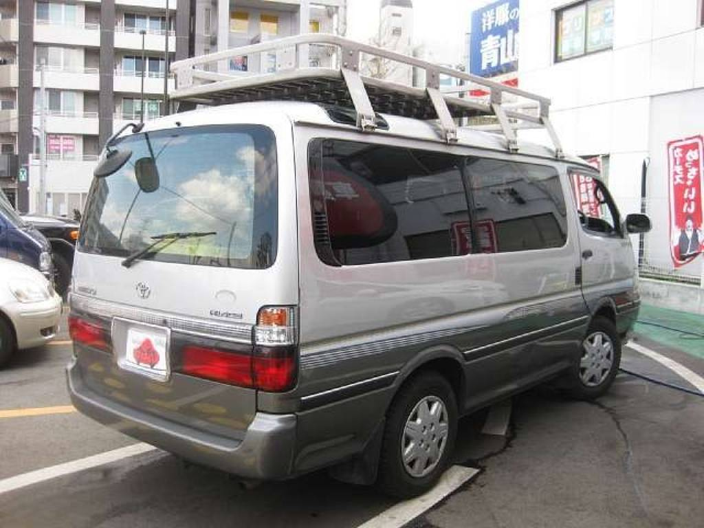Used 2001 AT Toyota Hiace Van GF-RZH101G Image[2]