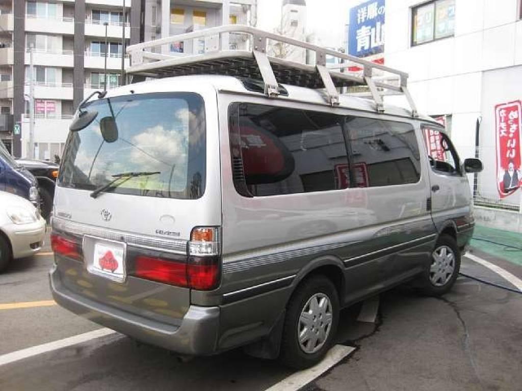 Used 2001 AT Toyota Hiace Van GF-RZH101G Image[2]