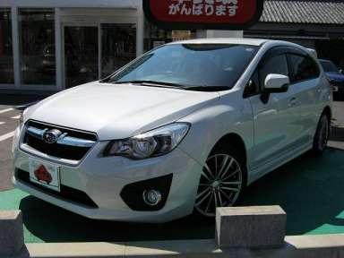 2012 CVT Subaru Impreza DBA-GP6
