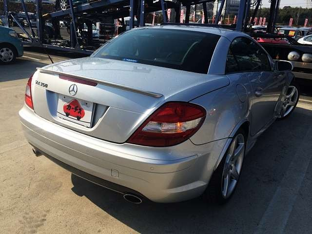 Used 2007 AT Mercedes Benz SLK Class DBA-171456 Image[2]