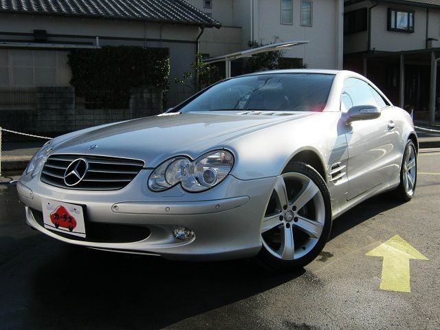 Used 2005 AT Mercedes Benz SL-Class GH-230475