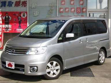 2007 AT Nissan Serena DBA-CC25