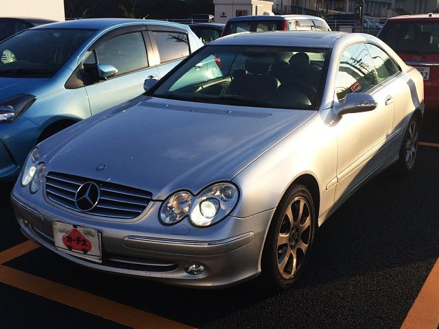 Used 2003 AT Mercedes Benz CLK-Class GH-209365