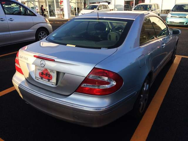 Used 2003 AT Mercedes Benz CLK-Class GH-209365 Image[2]