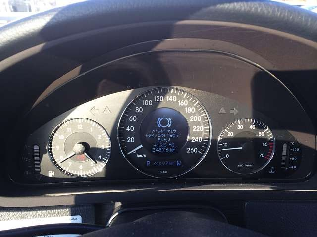 Used 2003 AT Mercedes Benz CLK-Class GH-209365 Image[7]