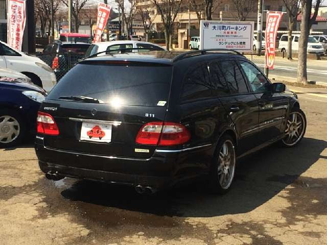 Used 2004 AT Mercedes Benz E-Class GH-211270 Image[2]
