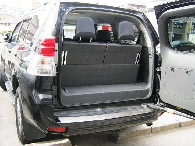 Used 2012 AT Toyota Land Cruiser Prado CBA-GRJ151W Image[8]