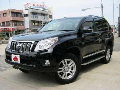 2012 AT Toyota Land Cruiser Prado CBA-GRJ151W