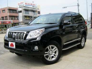2012 AT Toyota Land Cruiser Prado CBA-GRJ151W