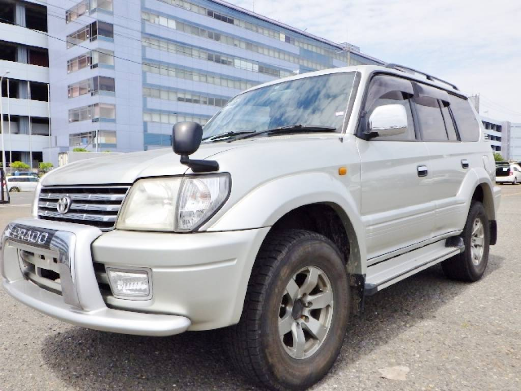 Used 1999 AT Toyota Land Cruiser Prado KZJ95W
