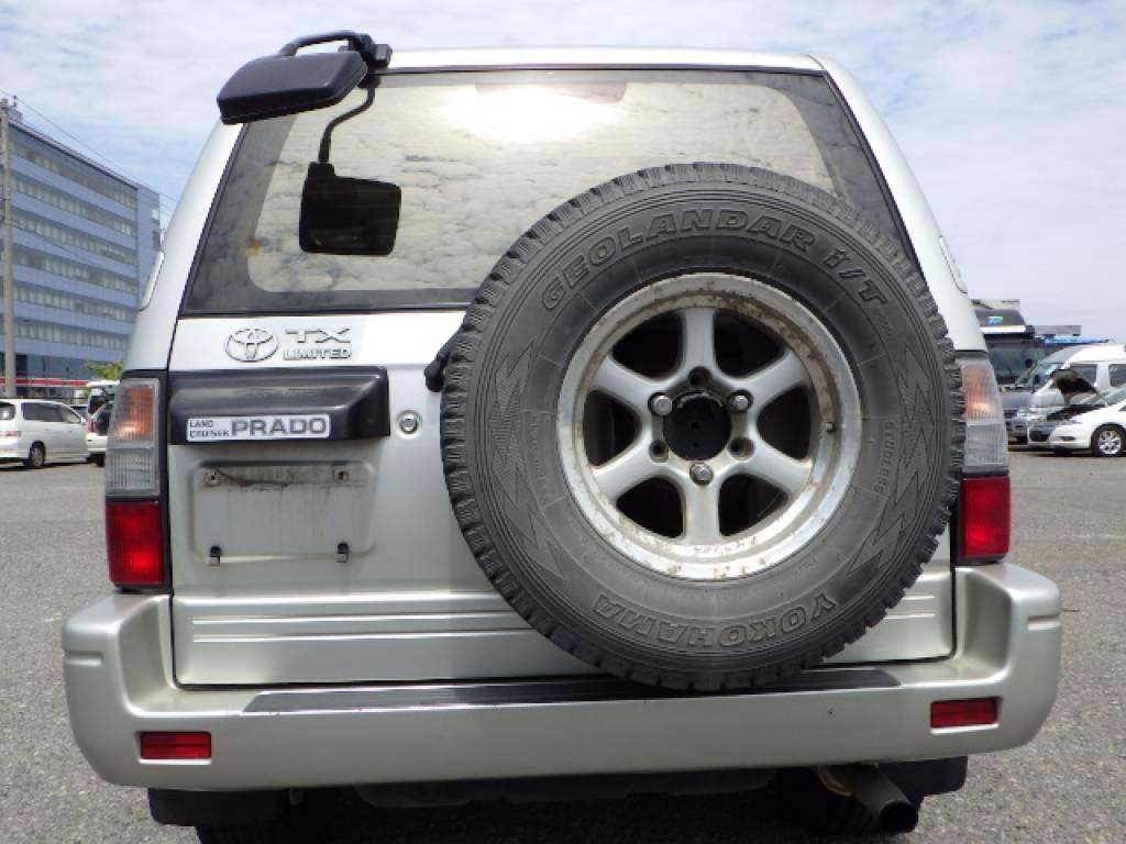 Used 1999 AT Toyota Land Cruiser Prado KZJ95W Image[2]
