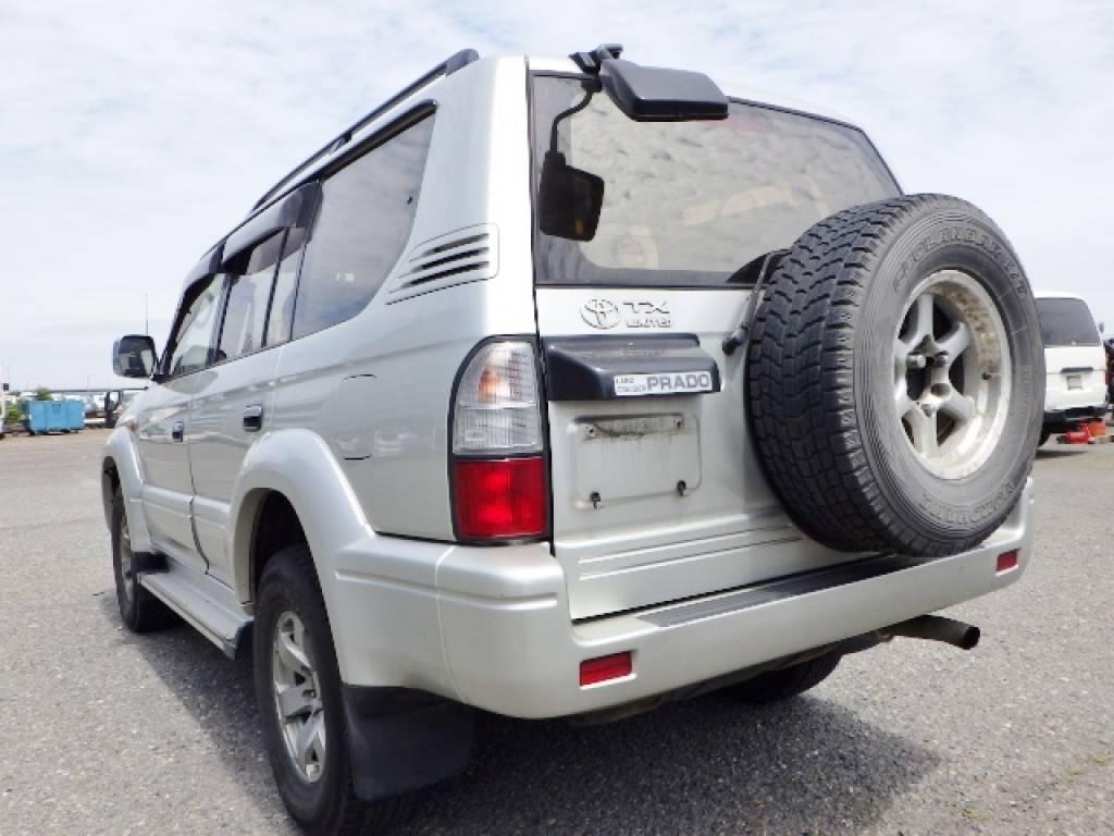 Used 1999 AT Toyota Land Cruiser Prado KZJ95W Image[3]