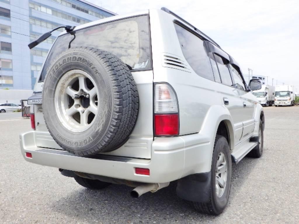 Used 1999 AT Toyota Land Cruiser Prado KZJ95W Image[5]
