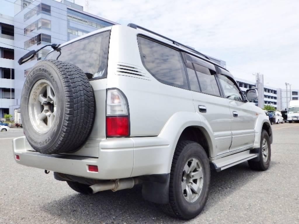 Used 1999 AT Toyota Land Cruiser Prado KZJ95W Image[6]