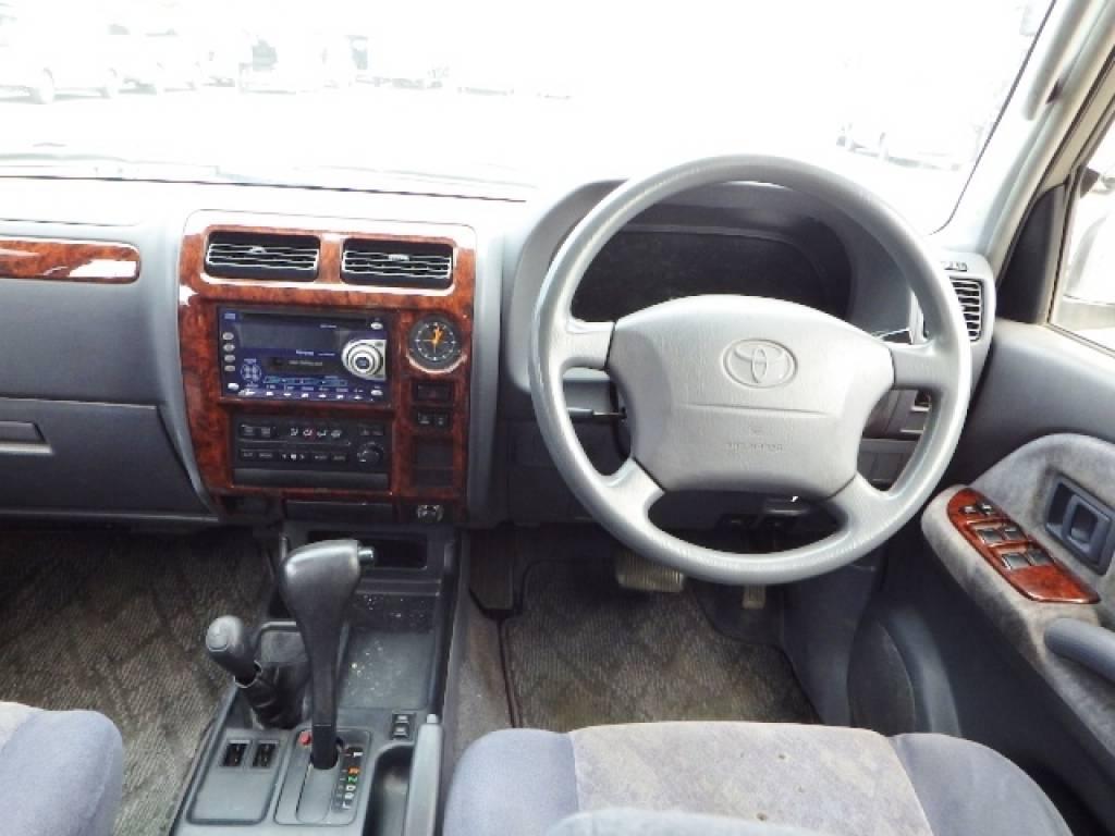 Used 1999 AT Toyota Land Cruiser Prado KZJ95W Image[9]