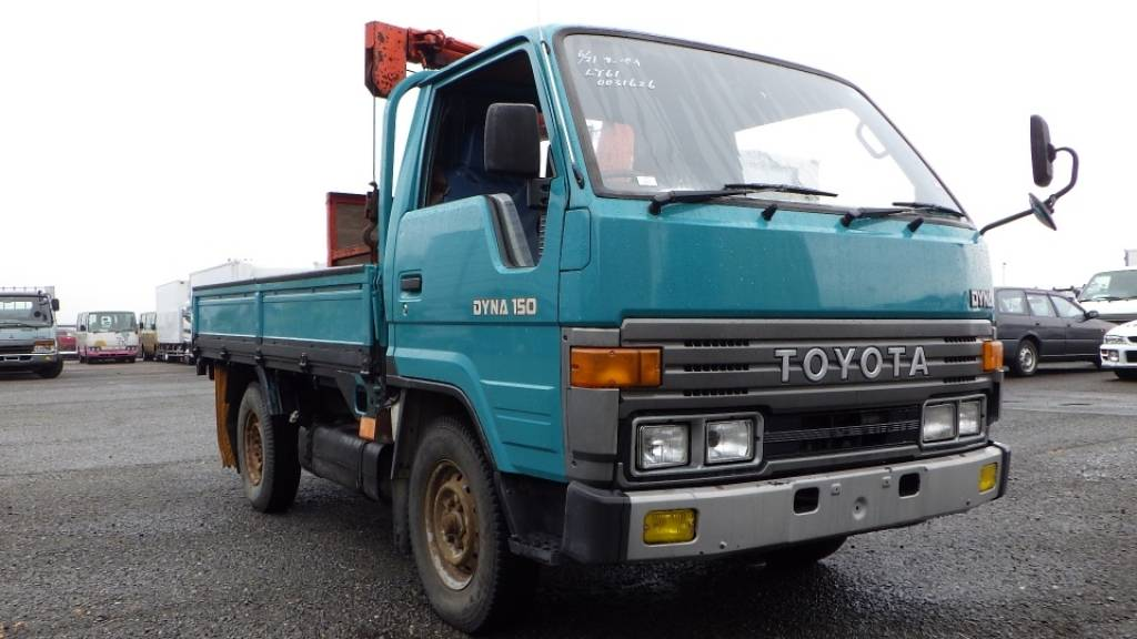 Used 1991 MT Toyota Dyna Truck LY61