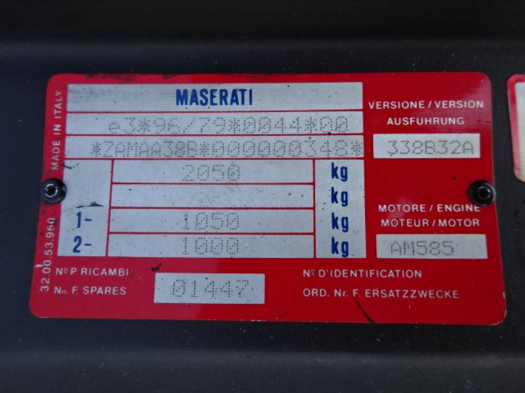 Used 1999 AT Maserati 3200GT 338 Image[19]