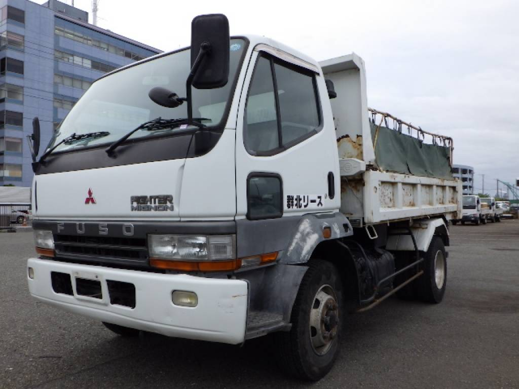 Used 1998 MT Mitsubishi Fuso Fighter Mignon FH217CD Image[2]