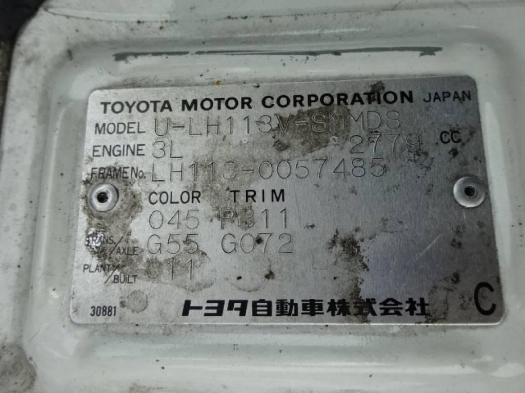 Used 1993 MT Toyota Hiace Van LH113V Image[32]