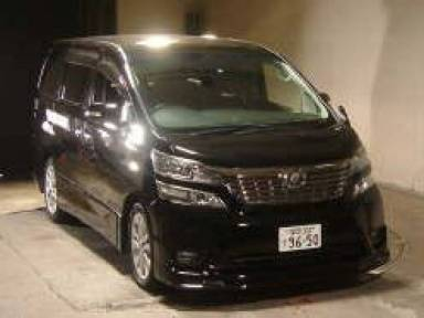 2008 AT Toyota vellfire ANH20W