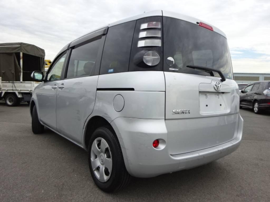Used 2008 AT Toyota Sienta NCP81G Image[1]