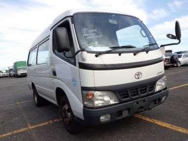2003 MT Toyota Dyna Root Van BU306V