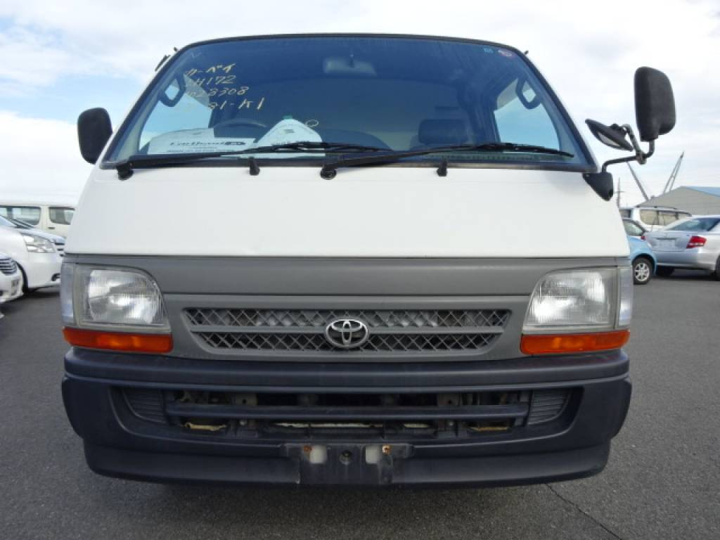 Used 2002 AT Toyota Hiace Van LH172V Image[5]