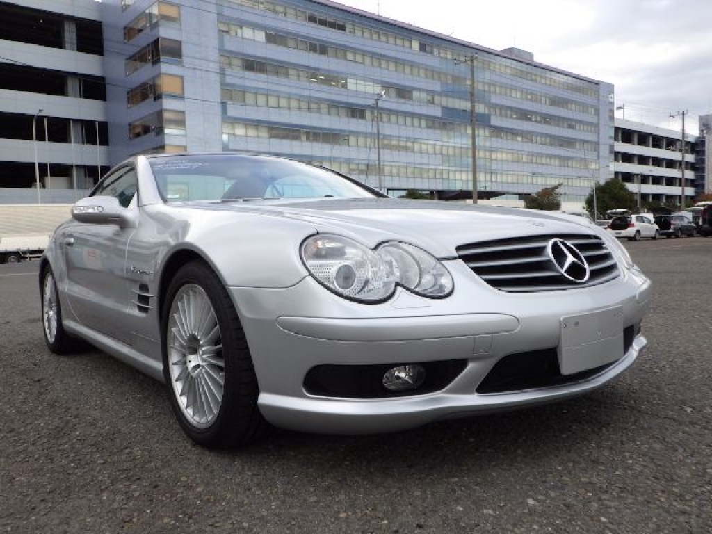 Used 2003 AT Mercedes Benz SL-Class 230475 Image[1]