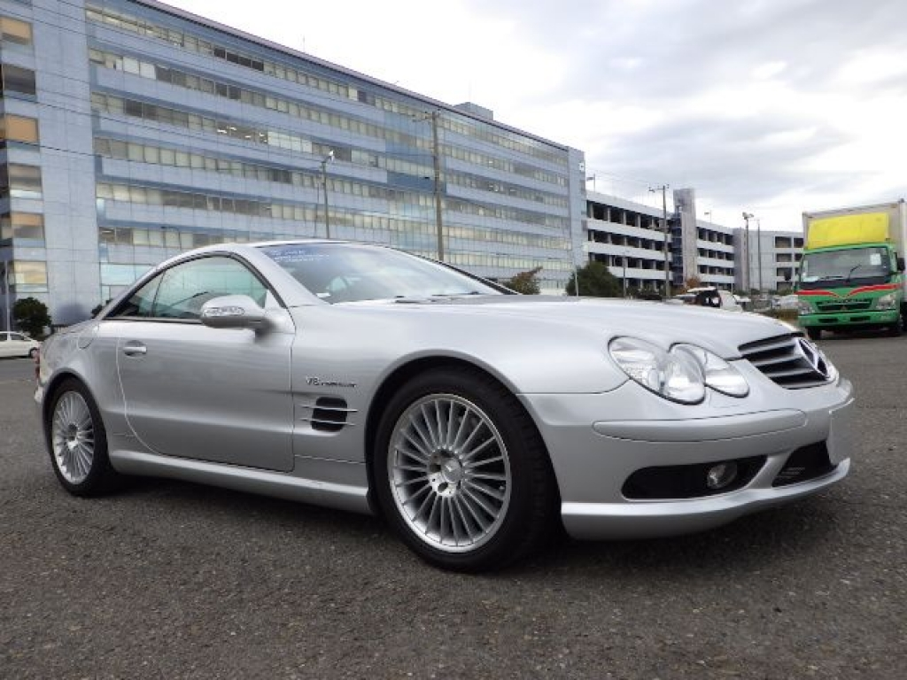 Used 2003 AT Mercedes Benz SL-Class 230475 Image[2]