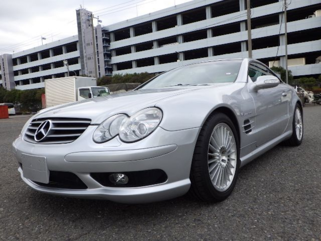 Used 2003 AT Mercedes Benz SL-Class 230475 Image[3]