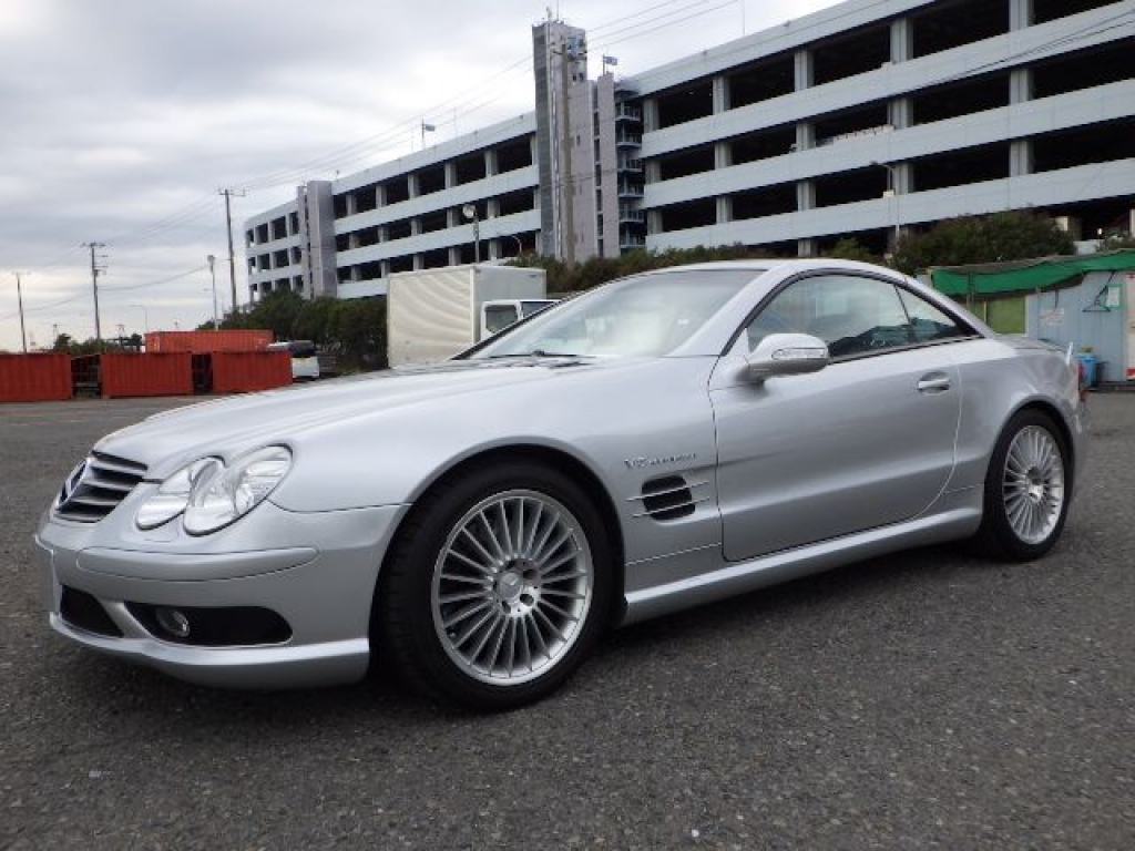 Used 2003 AT Mercedes Benz SL-Class 230475 Image[4]