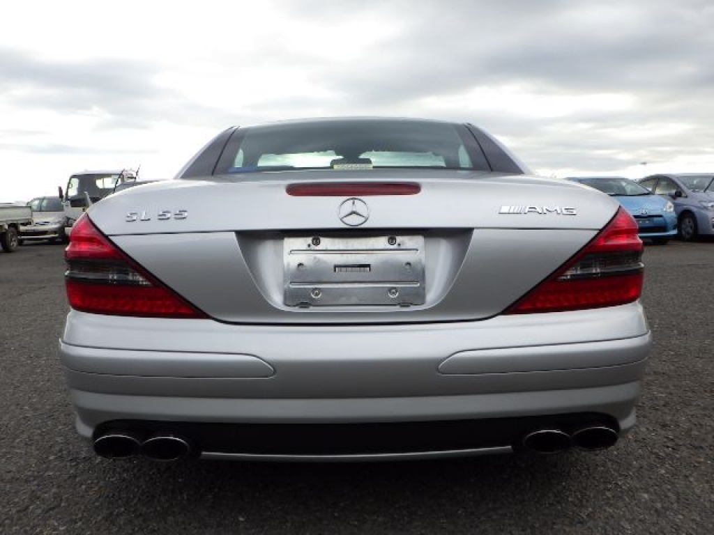 Used 2003 AT Mercedes Benz SL-Class 230475 Image[6]