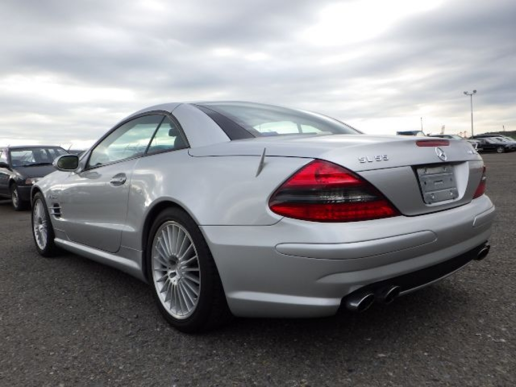 Used 2003 AT Mercedes Benz SL-Class 230475 Image[7]