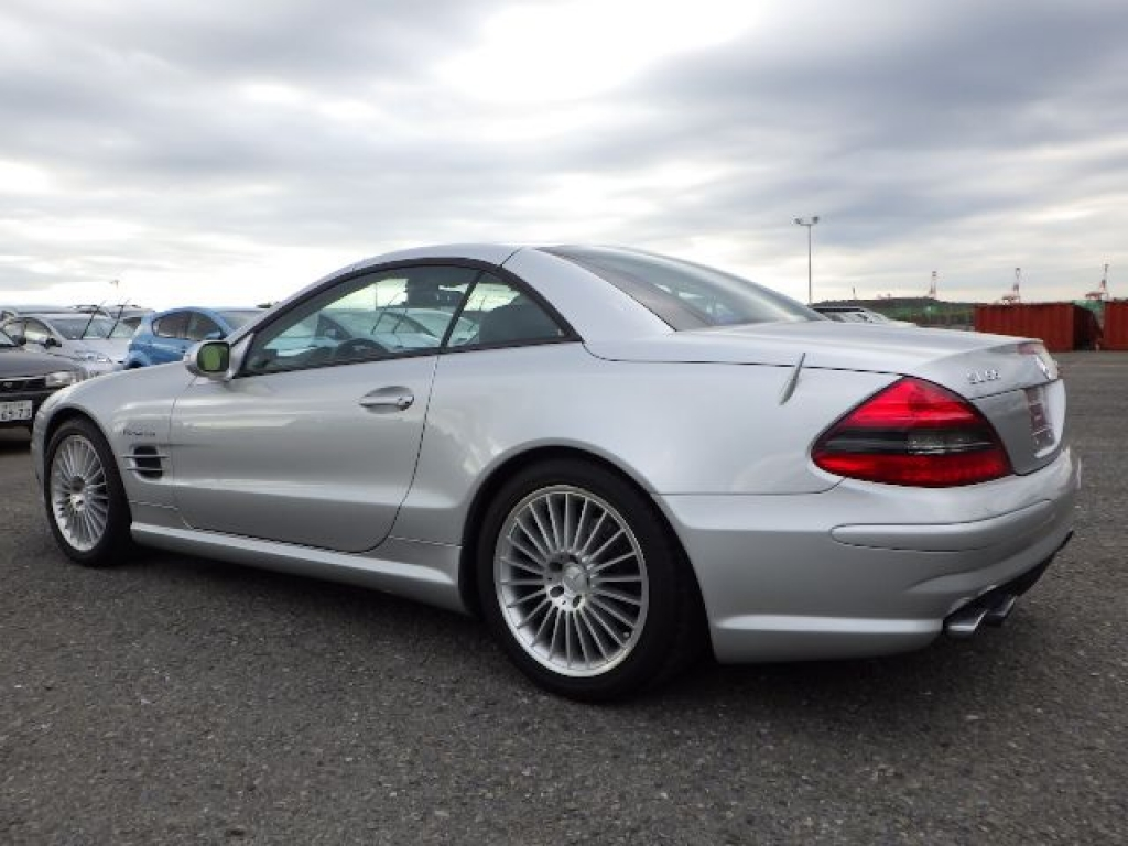 Used 2003 AT Mercedes Benz SL-Class 230475 Image[8]