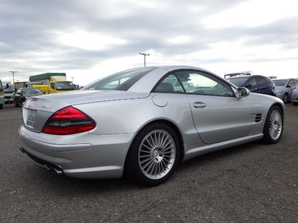 Used 2003 AT Mercedes Benz SL-Class 230475 Image[10]