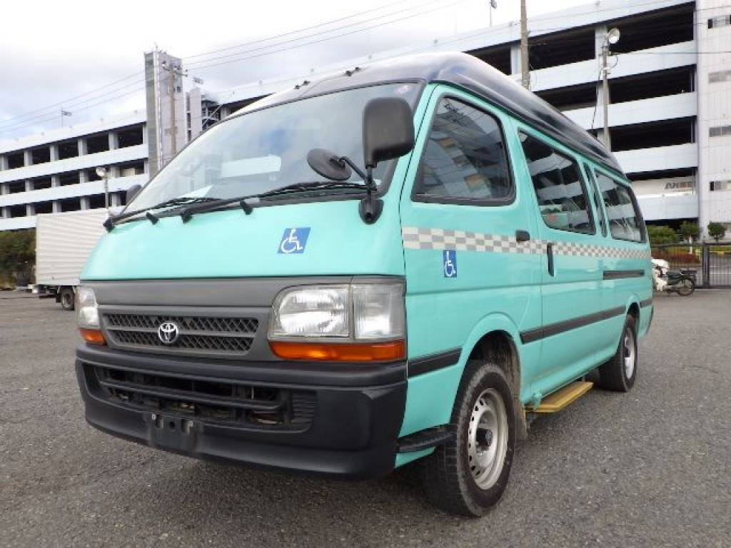 Used 2003 AT Toyota Hiace Van RZH125B Image[1]