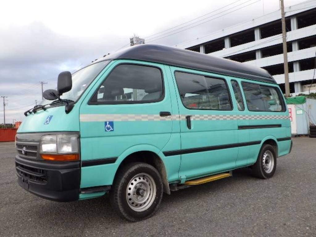 Used 2003 AT Toyota Hiace Van RZH125B Image[2]