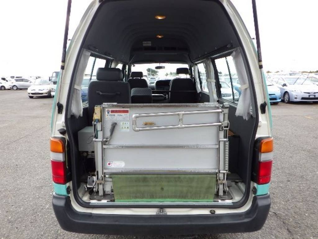 Used 2003 AT Toyota Hiace Van RZH125B Image[3]