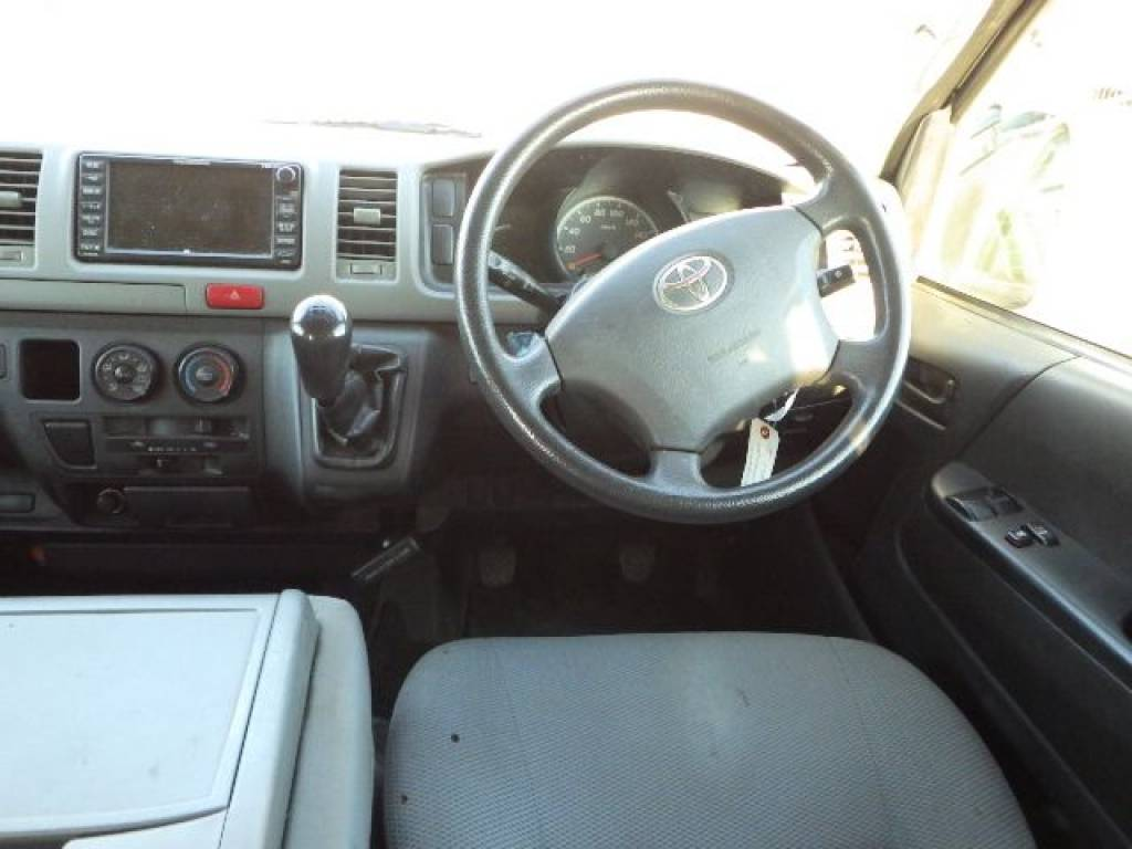 Used 2008 MT Toyota Hiace Van TRH200V Image[13]