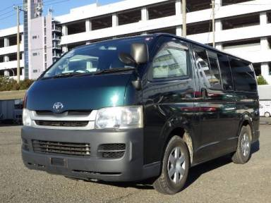 2008 MT Toyota Hiace Van TRH200V