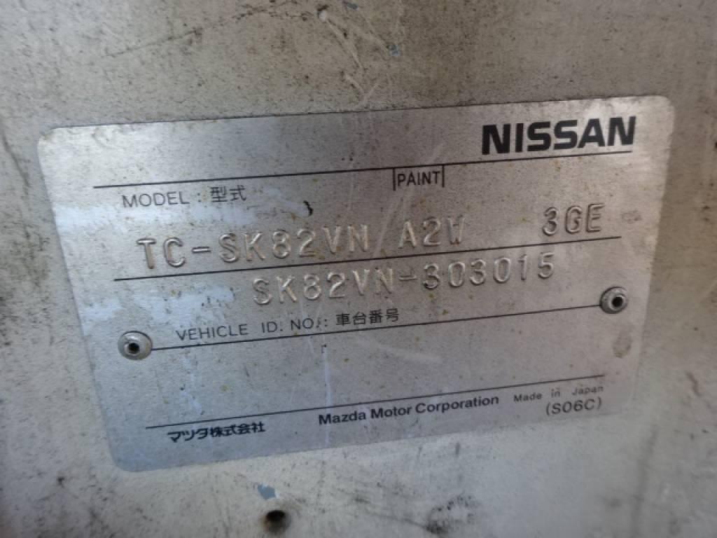 Used 2002 MT Nissan Vanette Van SK82VN Image[26]
