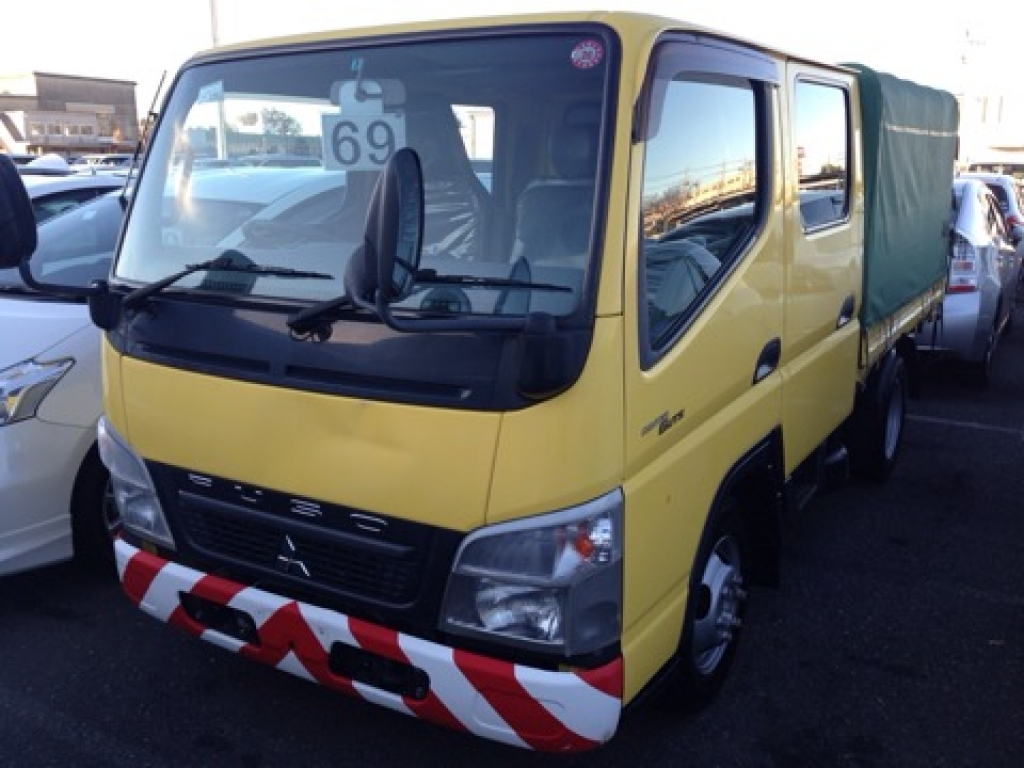 Used 2010 MT Mitsubishi Canter FB70B