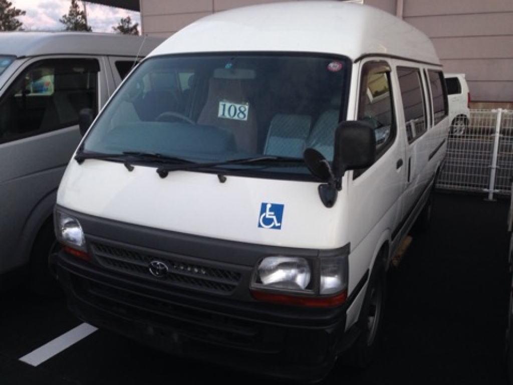 Used 2003 AT Toyota Hiace Commuter TRH124B