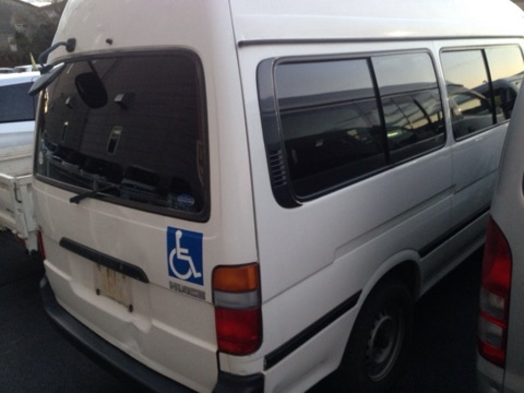 Used 2003 AT Toyota Hiace Commuter TRH124B Image[1]