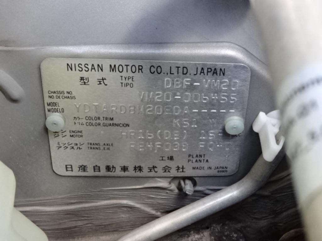 Used 2009 AT Nissan Vanette Van VM20 Image[17]