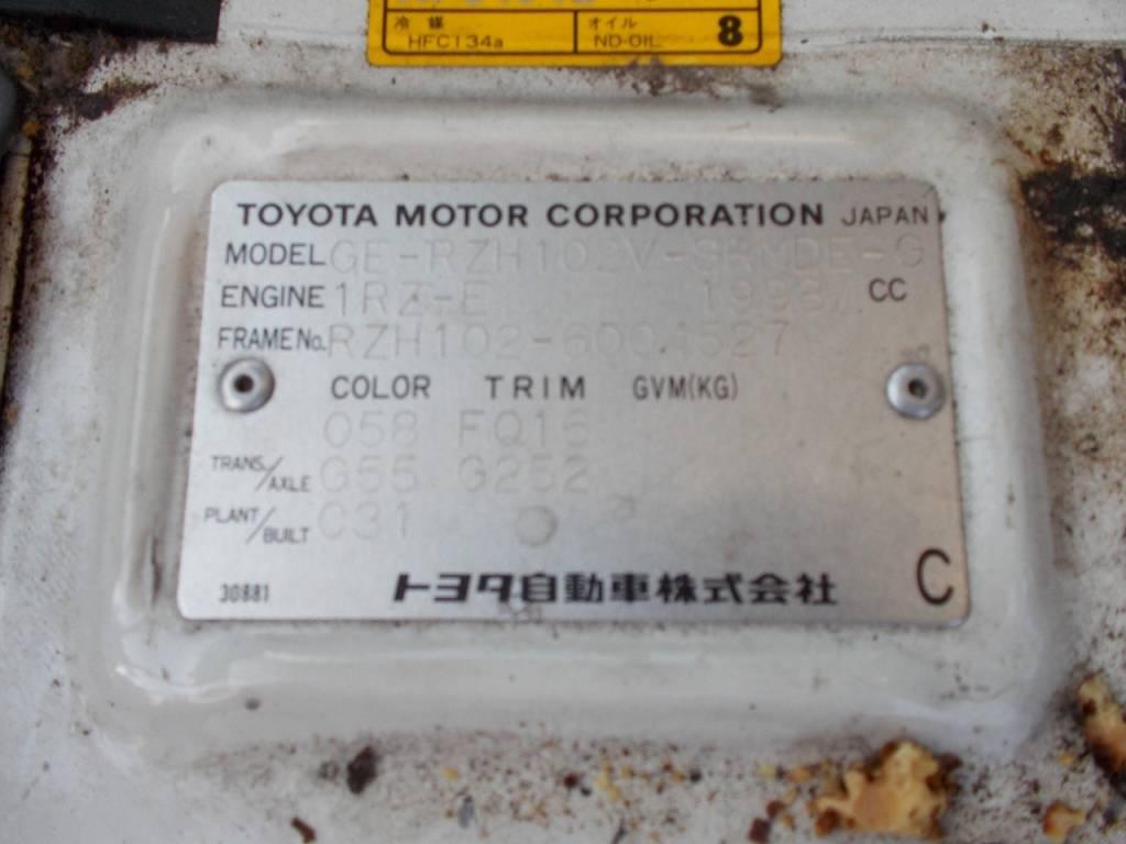 Used 2011 MT Toyota Hiace Van RZH102V Image[19]