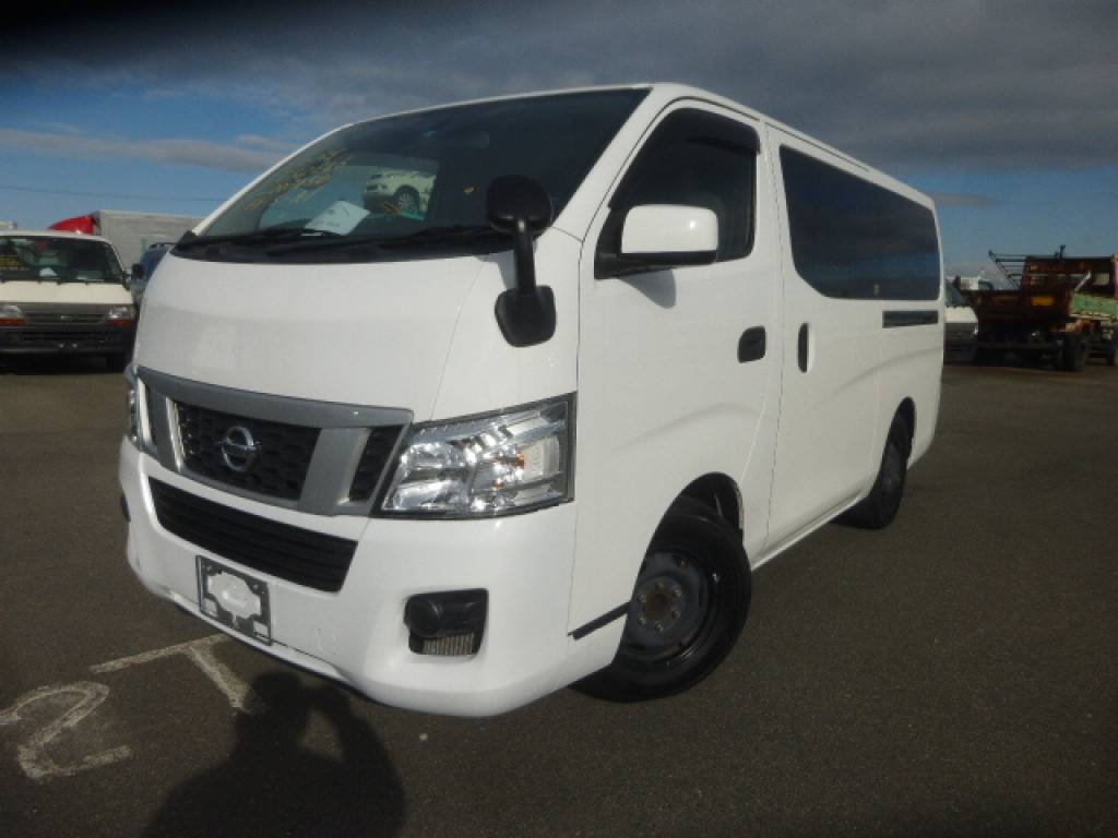 Used 2012 AT Nissan NV350 CARAVAN VAN VR2E26 Image[1]